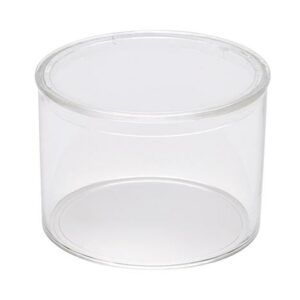 Extra Small Round Crystal Clear Container