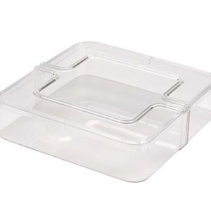 Clear Square Container and Lid