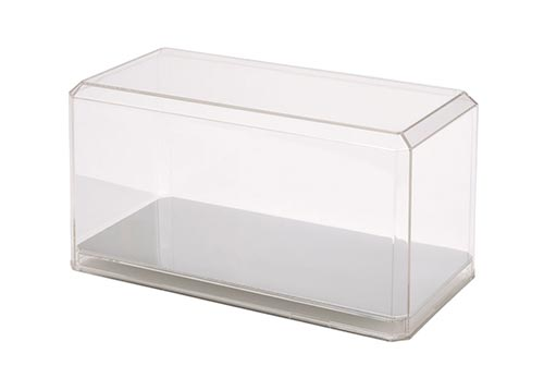 1:24 Scale Diecast Display Case Mirrored Bottom