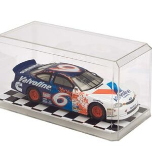 1:24 Scale Display Case Checkered Bottom