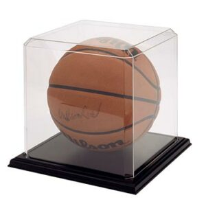 Basketball Display Case with Base