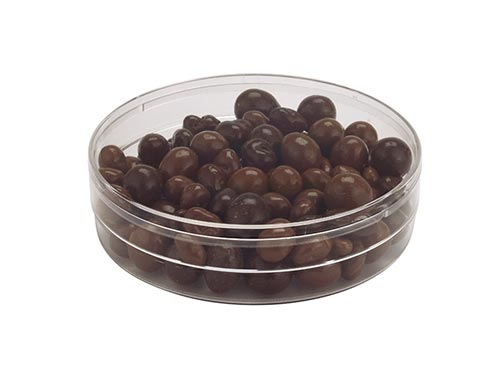 Round Container Clear Plastic