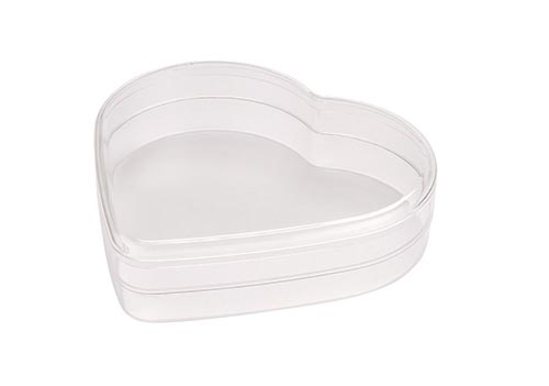 Heart Shaped Plastic Container