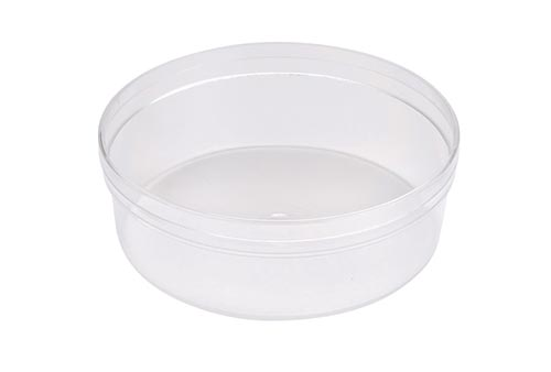 Round Plastic Candy Container