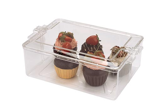 Clear Square Plastic Containers