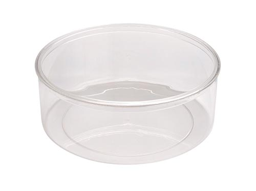 Large Round Plastic Container with Lid