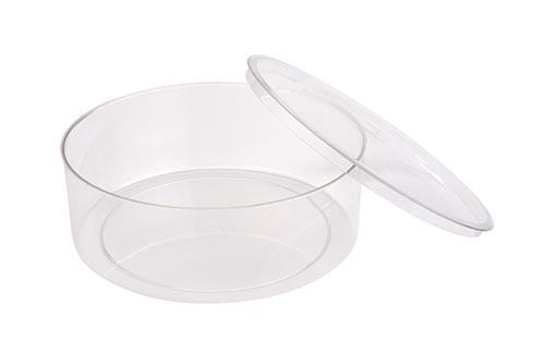 Large Round Plastic Container