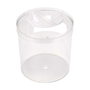 Clear Plastic Round Container with Lid