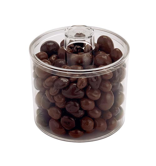 Clear Plastic Round Container