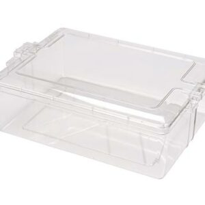 Square Plastic Box with Lid