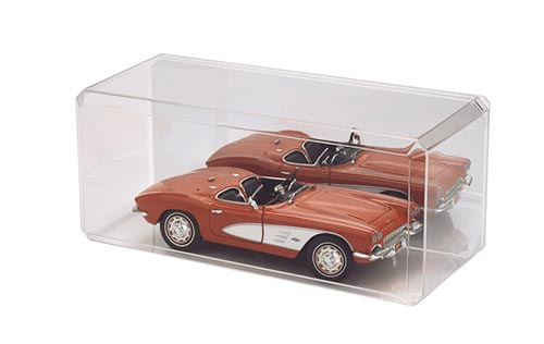 1:18 Scale Diecast Case Mirrored Bottom