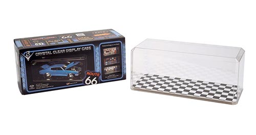 1:18 Scale Diecast Case Checkered Bottom