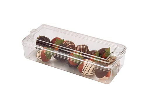 Square Plastic Containers with Lids