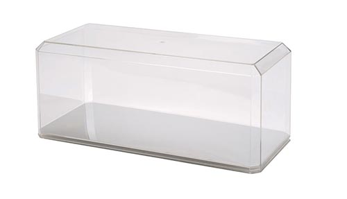 1:18 Oversized Scale Display Case Mirrored Bottom
