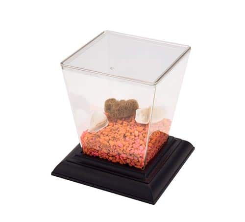 aquariums, terrariums, or insect cages