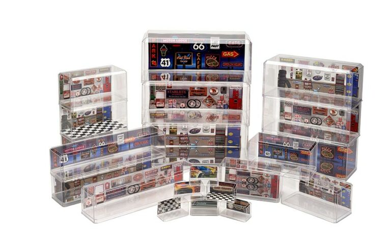pioneer plastics display cases